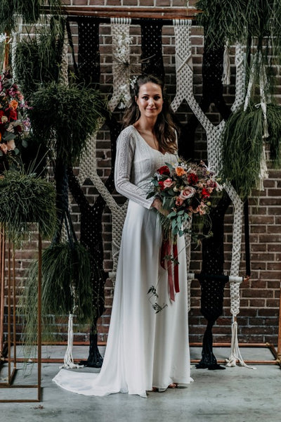 Our macrame in a styled wedding shoot!