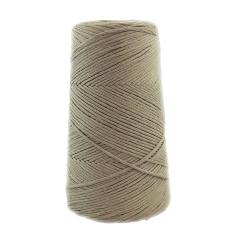 Stringrope - 2 mm - Camel - 100% Organic Combed Cotton (Spanish line)