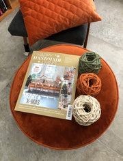 Happy Handmade Living Touw Set (3x20m stringrope in Olive, Copper & Gold-Off White) - voor de kerstboomversieringen (ex magazine)