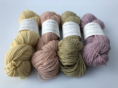 Hand-dyed Spanish Merino yarn BOTANICAL COLLECTION (Spanish Line)