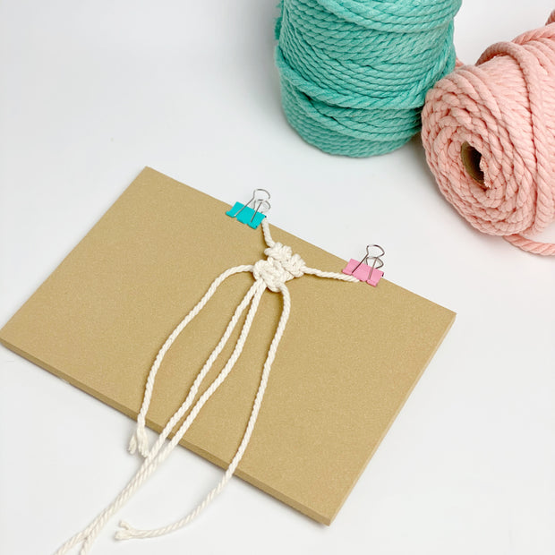 Macrame foam with/without wooden stand- to make micro macrame and smaller items!
