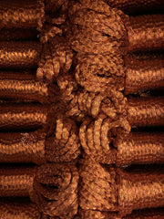 100% Metallic Braided Rope in COPPER - 5mm , 30 or 50m per bundle.