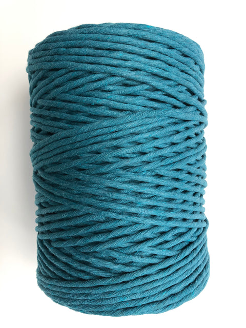 Azure - 5 mm supersoft single twisted cotton stringrope