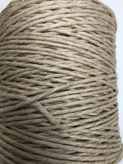Linen - 5 mm supersoft single twisted cotton stringrope (390m)
