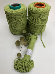 Spring Green - 4mm, 3-ply twisted rope