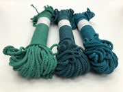 Jewel Green - 4mm, 3-ply twisted rope