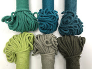 Army Green - 4mm, 3-ply twisted rope