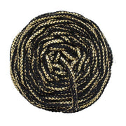 Rayon Air - Glitter - 4mm recycled braided Rayon rope in 4 variations (Spanish Line)