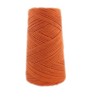 Stringrope - 4 mm - Burnt orange - 100% Organic Combed Cotton (Spanish line)