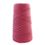Stringrope - 2 mm - Hot pink - 100% Organic Combed Cotton (Spanish line)