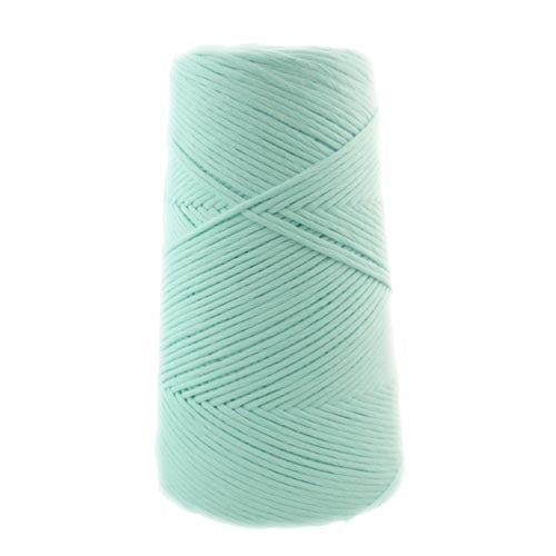 Stringrope - 4 mm - Light blue- 100% Organic Combed Cotton (Spanish line)