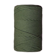 Premium stringrope 5 mm - dark chocolate - recycled material (Spanish line)