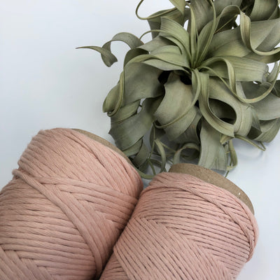 Stringrope - 4 mm - Rosa Nude - 100% Organic Combed Cotton (Spanish line)