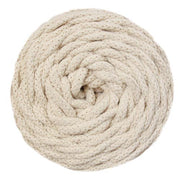 Cotton Air - Salmon - 5mm recycled braided cotton rope (Spanish Line)