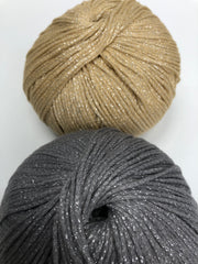 MAKO Sparkly Cotton - Champagne - 1mm (Spanish Line)