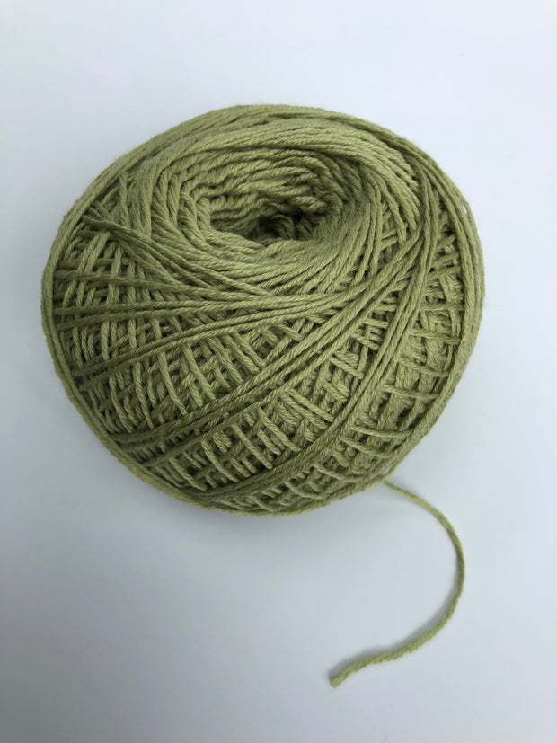 Italian Merino Super Wash yarn - olive (Spanish Line)