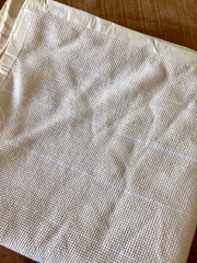 Monk's cloth for punchneedling (50x180cm) (= ex needle!)