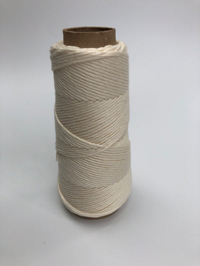 Stringrope - 4 mm - Crudo - 100% Organic Combed Cotton (Spanish line)