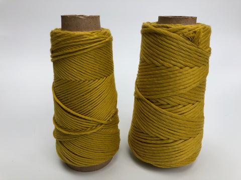 Stringrope - 4 mm - Pistachio - 100% Organic Combed Cotton (Spanish line)