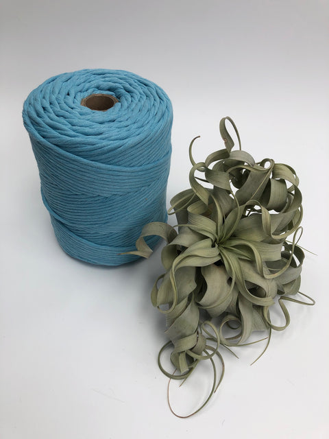 Premium stringrope 5 mm - Baby Blue- recycled material (Spanish line)