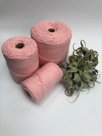 Premium stringrope 5 mm - Baby Pink- recycled material (Spanish line)