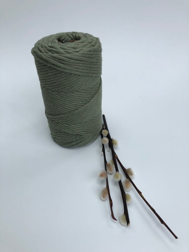Premium stringrope 5 mm - Avocado - recycled material (Spanish line)