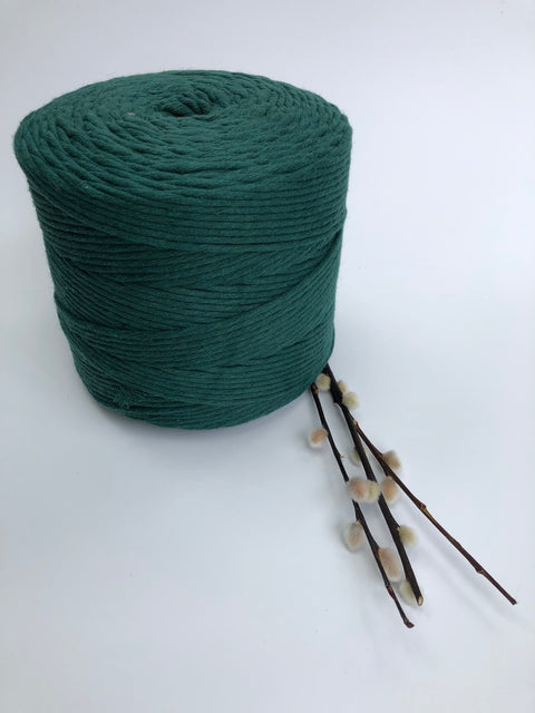Premium stringrope 5 mm - Jewel green - recycled material (Spanish line)