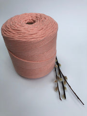 Premium stringrope 5 mm - Salmon - recycled material (Spanish line)