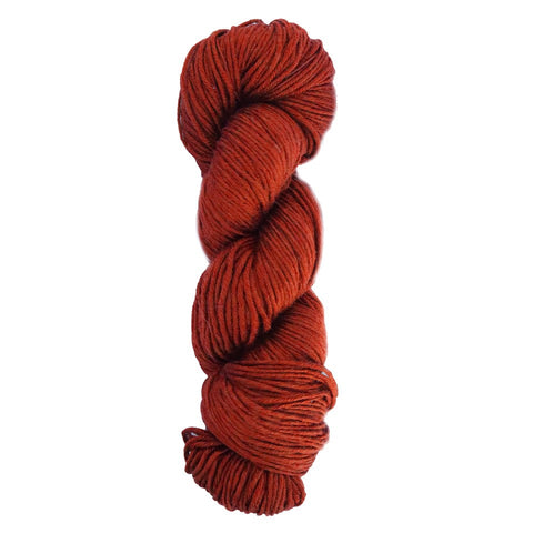 Italian Merino Super Wash yarn - terracotta red (Spanish Line)