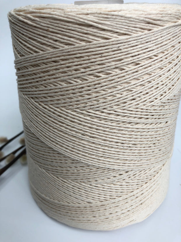 1mm cotton for weft (loom weaving) (Spanish Line)