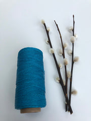 Polished and Waxed Linen (0.7mm) - Turquoise (Spanish Line)