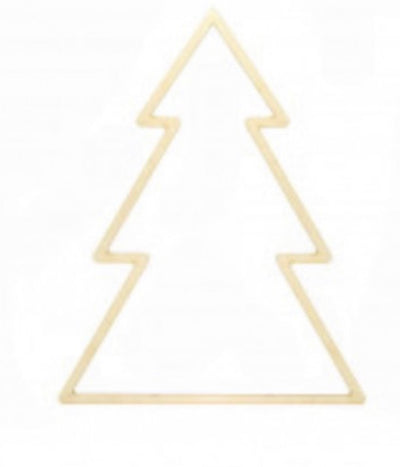 Wooden Christmas Tree 25cm