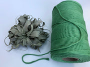 Lettuce, 5 mm supersoft single twisted cotton stringrope - recycled cotton