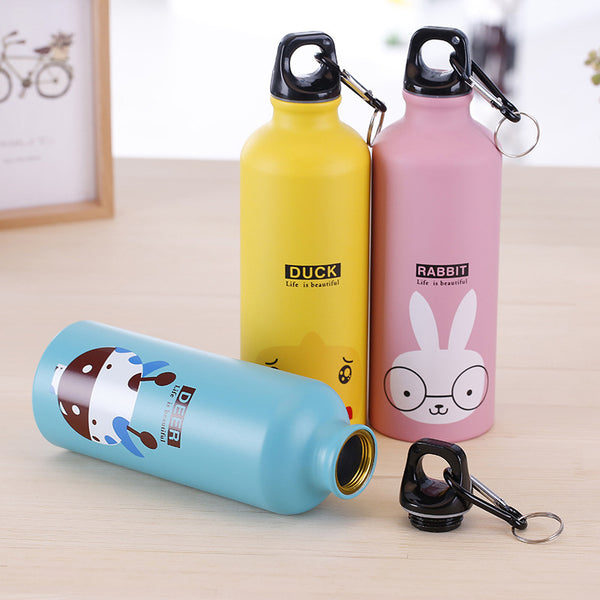 Cute Animal Cartoon Bottle