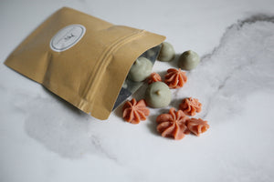 Soap Chips! Raw Goat's Milk Soap Babies - 56 gm / 2 oz