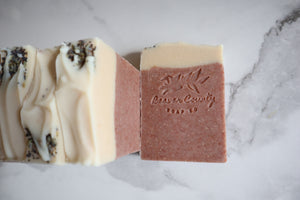 Lavender, Bergamot, & Lemon Raw Goat's Milk Soap