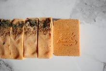 Load image into Gallery viewer, Orange & Lemongrass Coconut Milk Soap