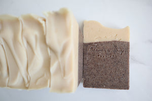 Lavender & Lemon Raw Goat's Milk Soap