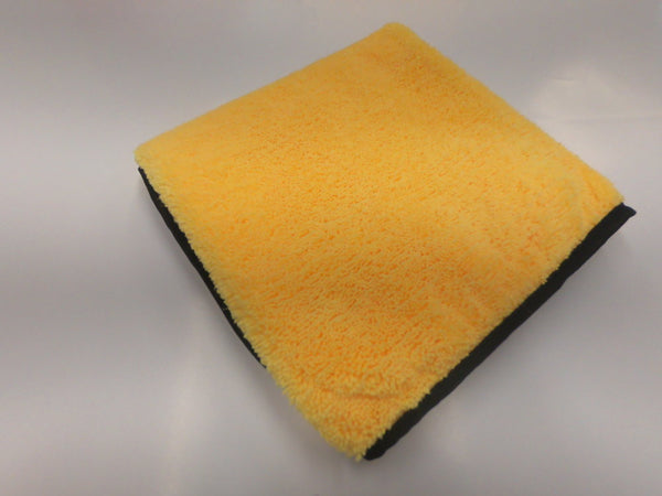 Large Plush Microfiber Towel Gold