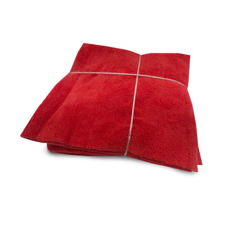 Red Microfiber Towel
