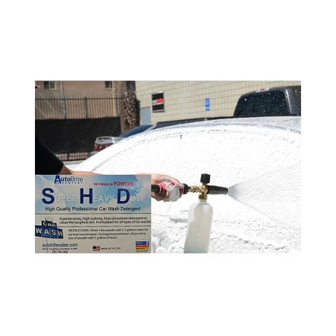 Super Heavy Duty Car Wash Detergent - Powder