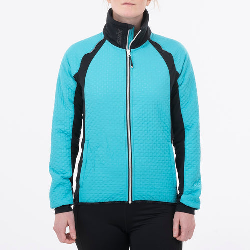 MENALI - WOMEN'S ULTRA QUILTED JACKET SWIX APPAREL  60000 TURQUOISE XL