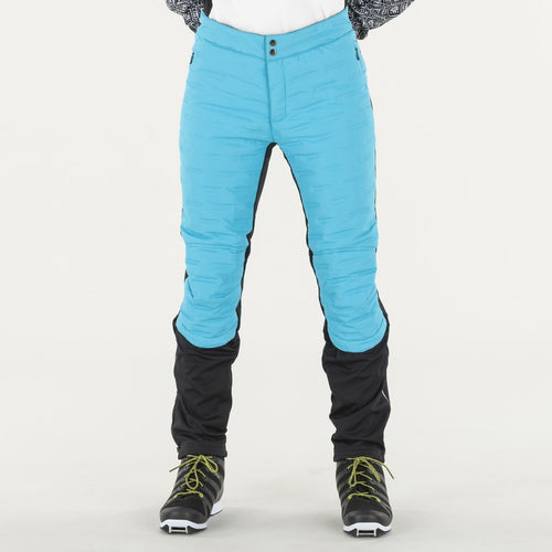 MENALI - WOMEN'S QUILTED PANTS SWIX APPAREL  52600 CYAN BLUE XL NORTHERN FUSION