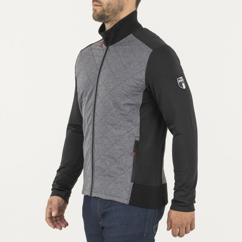 MYRENE- MEN'S FULL ZIP QUILTED MIDLAYER