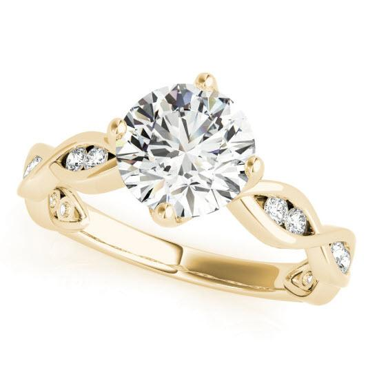 Ciara  Moissanite Engagement Ring