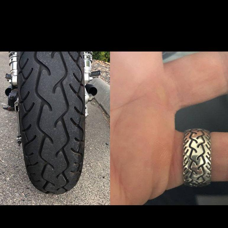 Street Bike 3-10mm Motocycle Tire Tread Ring