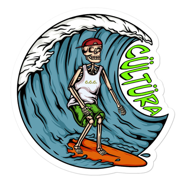 Cültüra Surfs up stickers