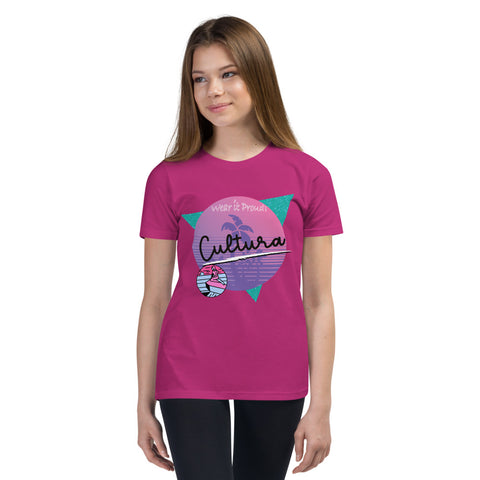 Cültüra Vibes Youth Short Sleeve T-Shirt