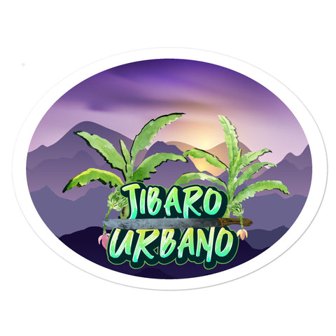 Jibaro Urbano Bubble-free stickers