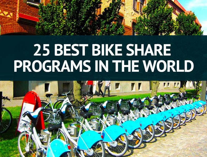 25 Best Bike Share Programs In The World
